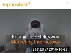 Miniaturka domeny www.topposition.pl