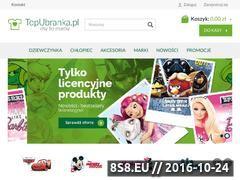 Miniaturka domeny www.topubranka.pl