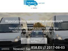 Miniaturka torarent.pl (Wypożyczalnia Samochodów Dostawczych)