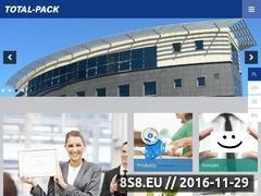 Miniaturka domeny www.totalpack.pl