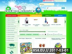 Miniaturka domeny toys-zabawki.pl