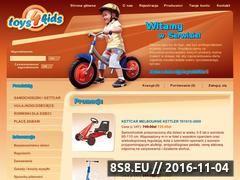 Miniaturka domeny www.toys4kids.pl