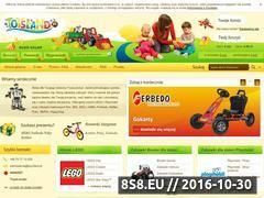 Miniaturka domeny www.toysland.pl