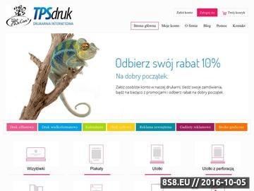 Zrzut strony Tani Druk | Plakaty, ulotki, broszury, teczki, wizytówki i katalogi