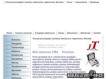 Zrzut strony Traczyk.pl - Instalacje, elektryczne, pomiary, klimatyzacja, sufit podwieszany, papa termozgrzewalna, roboty budowlano-montazowe