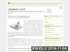 Miniaturka domeny tradedesign.pl