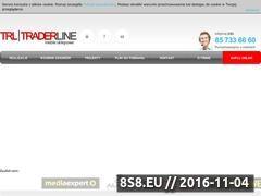 Miniaturka domeny www.traderline.pl