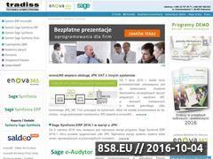 Miniaturka domeny www.tradiss.pl