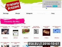 Miniaturka domeny www.trafionyprezent.pl