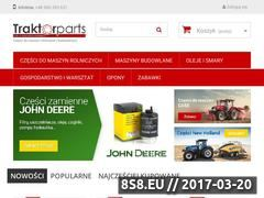 Miniaturka traktorparts.pl (Części do maszyn rolniczych i budowlanych)