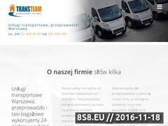 Miniaturka Tanie przeprowadzki Warszawa (trans-team.pl)