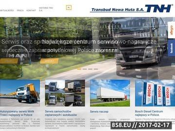 Zrzut strony Serwis Samochodów Ciężarowych i naczep w Krakowie MAN, Volvo, Scania, Daf, Iveco