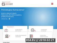 Miniaturka transglob.com.pl (Tłumaczenia medyczne oraz tłumaczenia prawnicze)