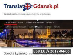Miniaturka translatorgdansk.pl (Translator.pl - tłumacz przysięgły Gdańsk)