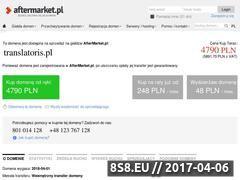 Miniaturka domeny www.translatoris.pl