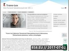Miniaturka domeny www.translex.com.pl