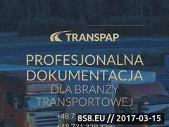 Miniaturka domeny transpap.pl