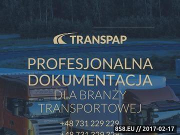Zrzut strony Dokumenty do licencji transportowej