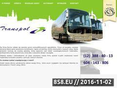 Miniaturka transpol.info.pl (Wynajem autokarów Kraków)