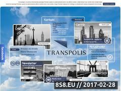 Miniaturka domeny www.transpolis.pl