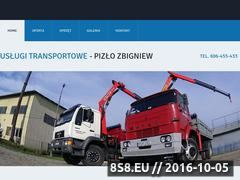 Miniaturka domeny www.transport-hds.rzeszow.pl