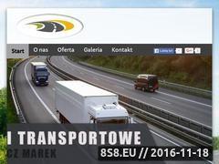 Miniaturka domeny www.transport-mancewicz.pl