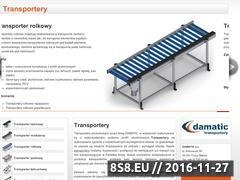 Miniaturka domeny www.transportery-damatic.pl