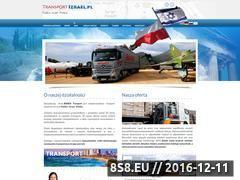 Miniaturka domeny www.transportizrael.pl