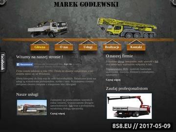 Zrzut strony HDS Transport Wroclaw Transportujemy