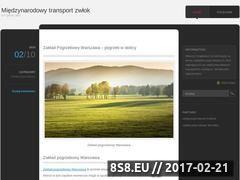 Miniaturka domeny transportzmarlych.wordpress.com