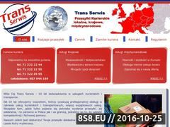 Miniaturka domeny www.transserwis.pl