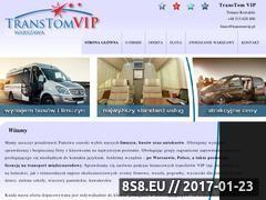 Miniaturka domeny www.transtomvip.pl