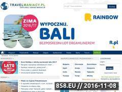 Miniaturka www.travelmaniacy.pl (Podróże i turystyka)