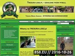 Miniaturka domeny www.tresura-lodz.pl