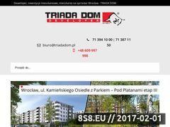 Miniaturka domeny triadadom.pl