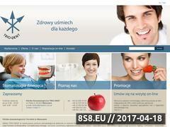 Miniaturka domeny www.triodent.com.pl