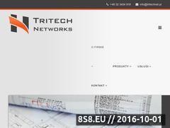 Miniaturka www.tritechnet.pl (Urządzenia sieciowe i sieci strukturalne)