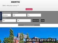 Miniaturka domeny trojmiasto.mertis.pl