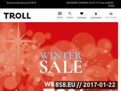 Miniaturka domeny www.troll.com.pl