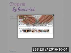 Miniaturka domeny www.tropemkobiecosci.eurosap.pl