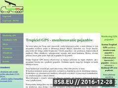 Miniaturka domeny www.tropicielgps.pl