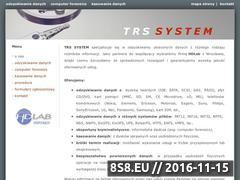 Miniaturka domeny www.trs.pl