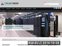 Miniaturka domeny www.trustcom.pl