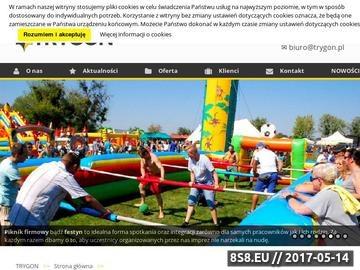 Zrzut strony Imprezy integracyjne