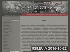 Miniaturka domeny www.trzeciarzesza.info