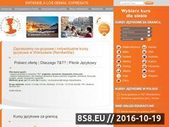 Miniaturka Obozy językowe za granicą - kursy językowe (www.tt.edu.pl)