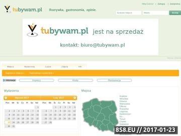 Zrzut strony Imprezy Kraków