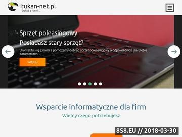 Zrzut strony Firma TUKAN Mariusz Woźniak