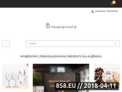 Miniaturka domeny tukupiszprezent.pl