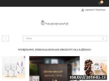 Zrzut strony Tu Kupisz Prezent z grawerem Dla Szefa